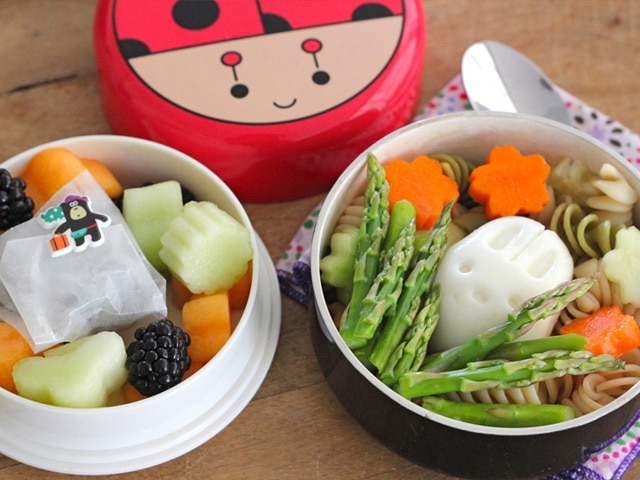 Kosher Pasta Salad Bento Box for Kids