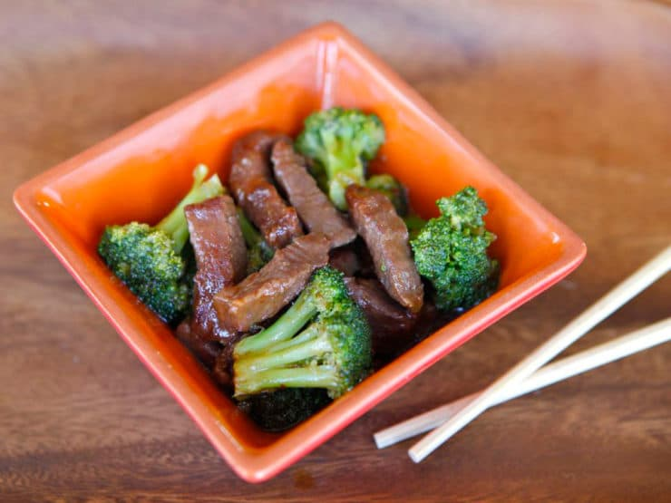 Chinese Broccoli Beef - Homemade, easy stovetop meal in 40 minutes. Kosher, Healthy, Easy Recipe.