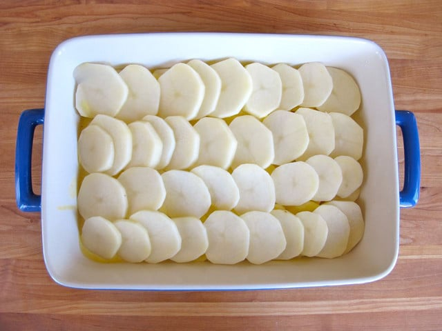 Coconut Saffron Scalloped Potatoes 6