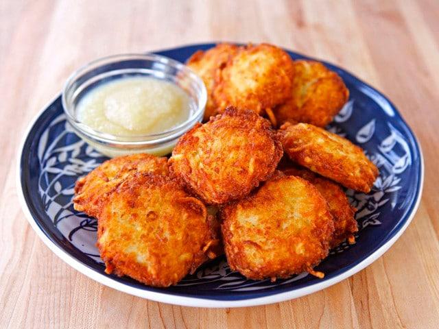 Crispy Panko Potato Latkes Punchfork