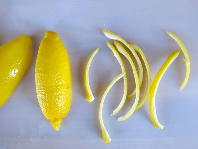 How to Make Candied Lemon Peels - Easy Photo Tutorial