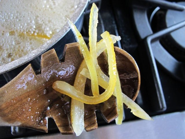 How To Make Candied Lemon Peels Recipe — Dishmaps