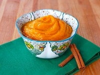 Maple Butternut Squash Puree - Dairy Free