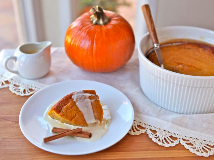 Pumpkin Pudding, Lincoln and Thanksgiving