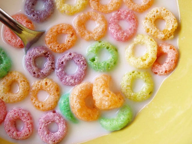 The History of Cereal: An American Breakfast Treat - Learn the history of cereal and milk, the beloved American breakfast food, and try five cereal-inspired recipes from my favorite food blogs.