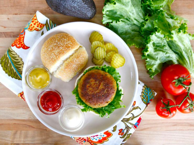 Black-Eyed Pea Burgers - Meatless burger with smoked paprika, shallots ...
