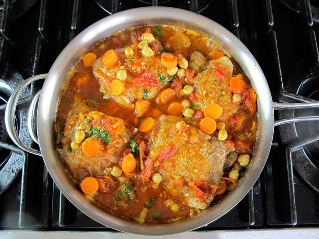 Chicken Chickpea Stew - Healthy Winter Stew Recipe