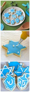 Holiday Sugar Cookies - Cookie Recipe, Icing Recipe and Decorating Tutorial on ToriAvey.com