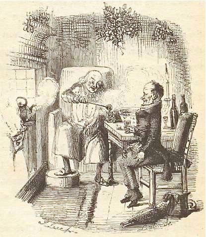 Drinking with Charles Dickens - Learn to make a Victorian inspired recipe for Smoking Bishop, a mulled wine holiday punch from Charles Dickens' A Christmas Carol.