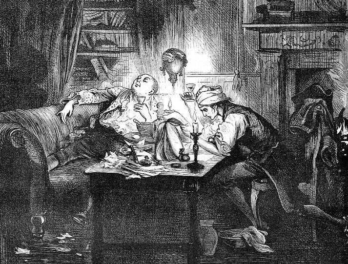 Charles Dickens: Food and Drink - Learn about the influence of food and drink on the literature of Charles Dickens. Victorian era food, A Christmas Carol, Oliver Twist, literary food.