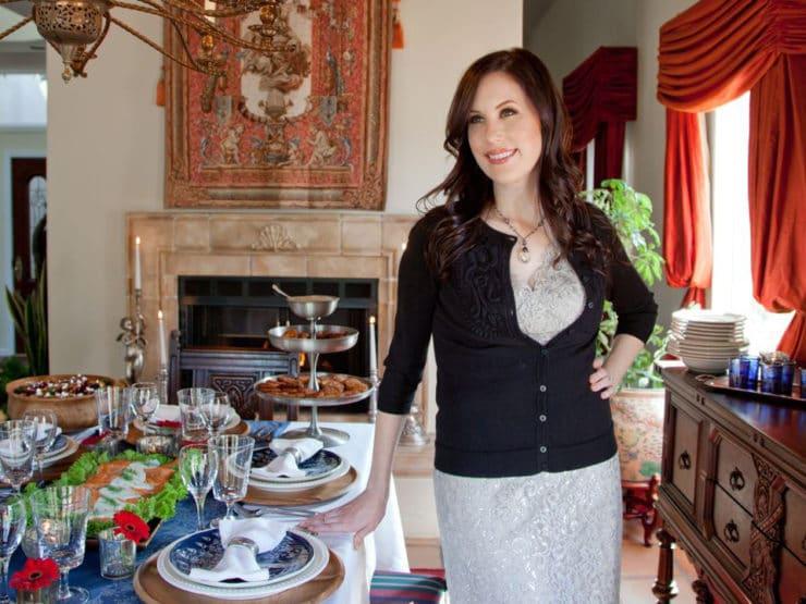 FoodieCrush Magazine – The Ultimate Hanukkah Hostess