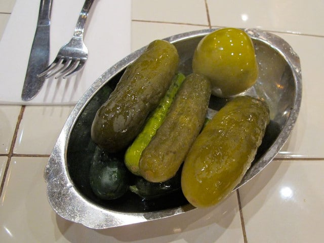 ate pickles at 2nd Avenue Deli in Manhattan. Twice. Half-sours are ...