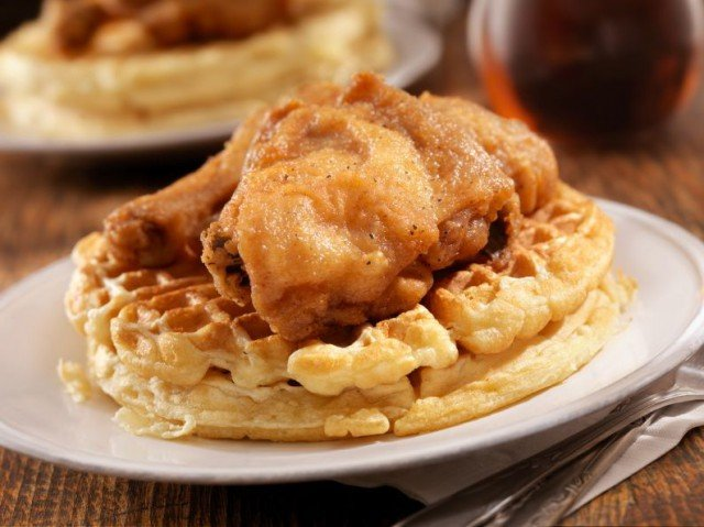 The History of Chicken and Waffles - From Medieval Times to