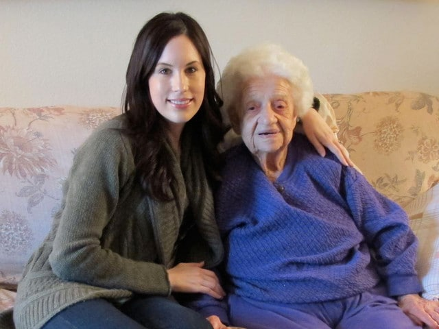 also met 104 year-old Mary Goldberg who shared her recipe for ...