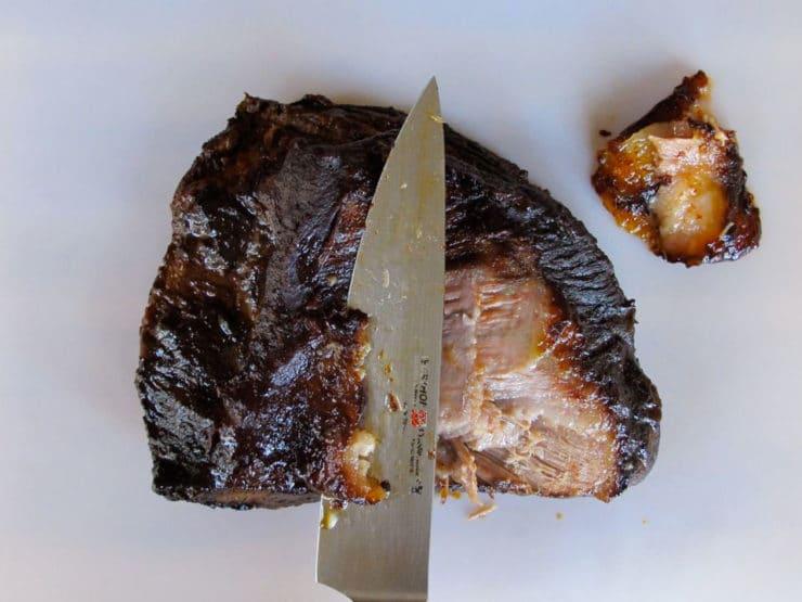 the slices of brisket slow cooker barbecue brisket easy slow cooker ...