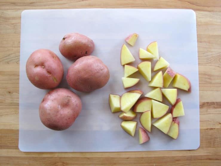 Smoked Paprika Roasted Potatoes - Easy Smoky Vegan Recipe