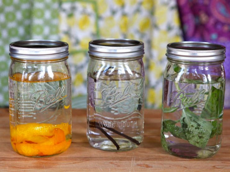 How to Infuse Vodka - Use ingredients like vanilla, citrus, fruit, herbs and peppers to infuse vodka with flavor naturally. Very easy step-by-step process with photos. Homemade.