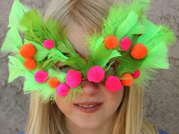 Make A Mask For Purim Homemade Purim Mask Jewish Holiday