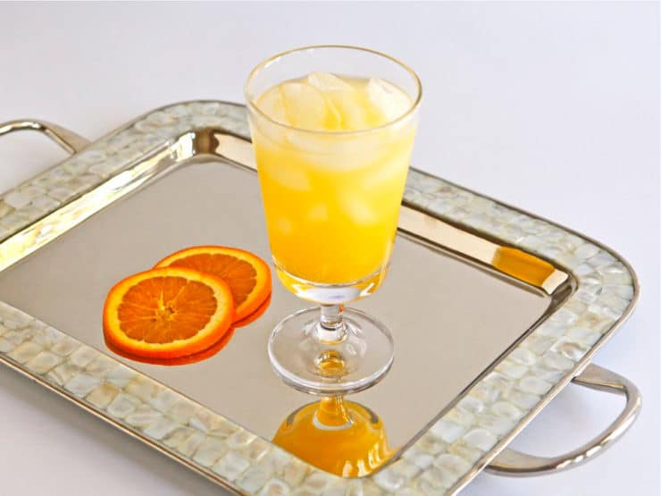 Orange Creamsicle - Recipe for an easy citrus cocktail with vanilla ...