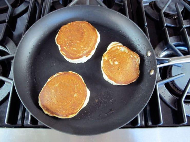 Poppy Seed Pancakes - Greek Yogurt Pancake Recipe