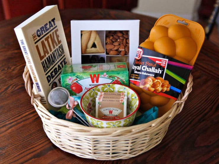How to Make a Mishloach Manot - Learn how to make a Mishloach Manot basket for Purim. Includes 4 examples of beautiful and classy baskets to give to loved ones, as charity or tzedakah.