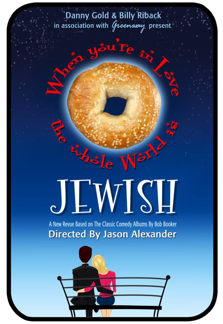 "Interview with Jason Alexander on his new show, ""When You're in Love the Whole World is Jewish,"" and recipe for Lokshen mit Kaese - Noodles & Cheese"
