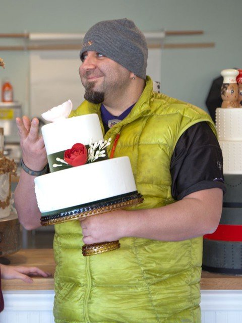 Duff Goldman at Charm City Cakes West