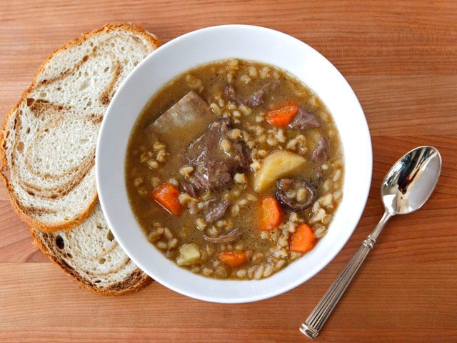 Duff Goldman's Beef and Barley Soup