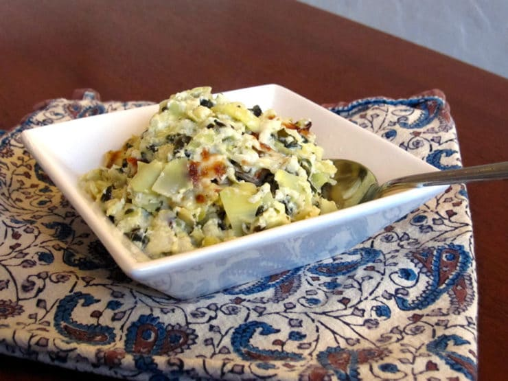 Passover Spinach Artichoke Dip
