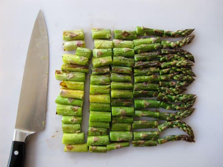 Roasted Asparagus, Avocado and Arugula Salad - Healthy Flavorful ...