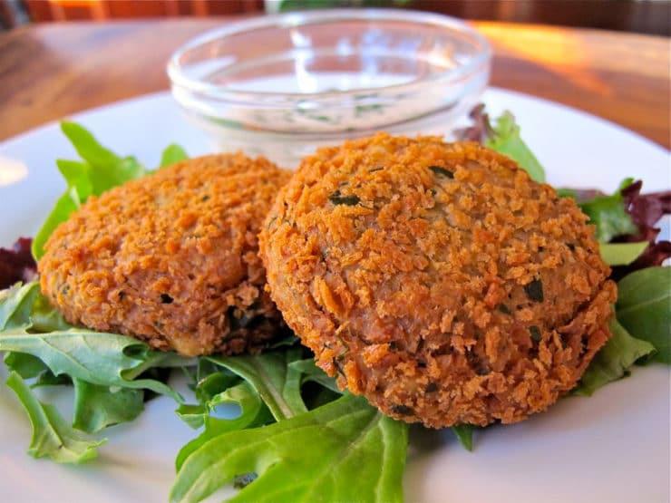 recipe: pumpkin and chickpea patties [36]