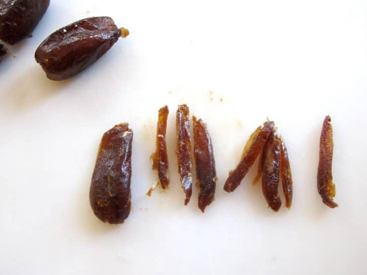 Slicing dates into strips.