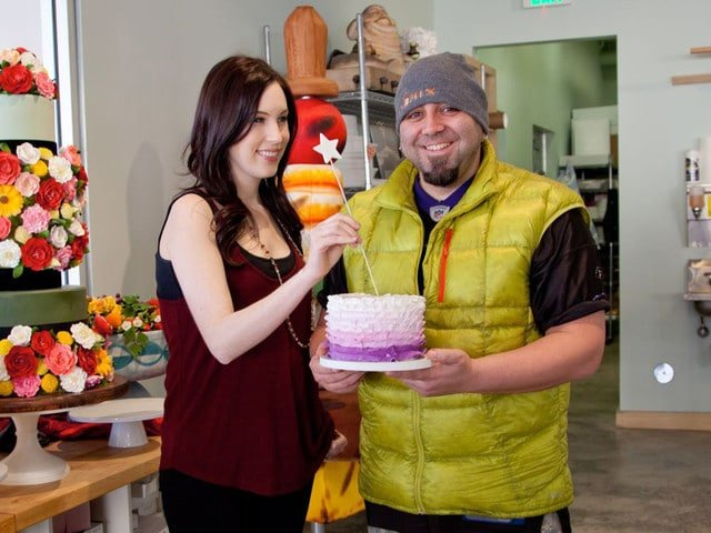 Tori Avey and Duff Goldman