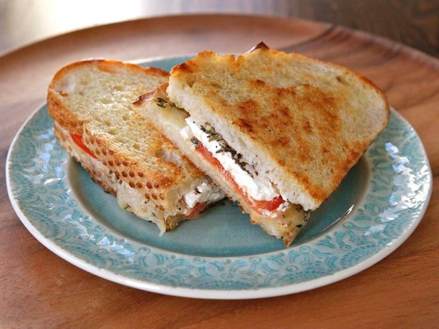 Feta Pepper Jack Grilled Cheese