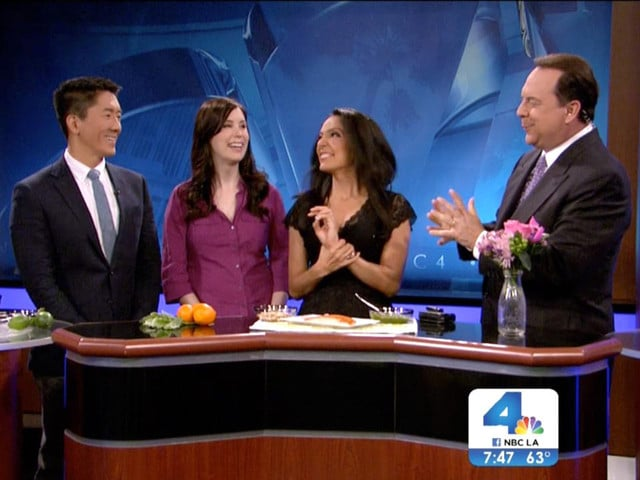 Mediterranean Recipes for Spring on NBC LA | TheShiksa.com