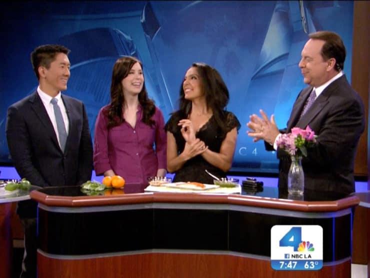 Mediterranean Recipes for Spring on NBC Today in LA