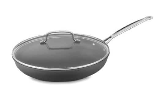 Slope-Sided Sauté Pan