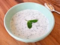 Chilled Greek Yogurt Soup