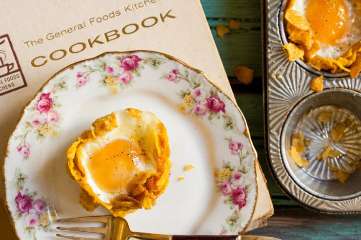 Crispy Baked Eggs - Chef Louise Mellor shares a vintage recipe from The General Foods Kitchens Cookbook and discusses the 1959 culinary landscape.