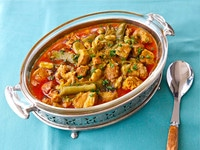 Lamb and Fava Beans on TheShiksa.com #recipe #spring #stew