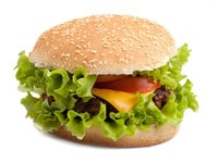 The First Kosher Cheeseburger? | TheShiksa.com #food #news #science