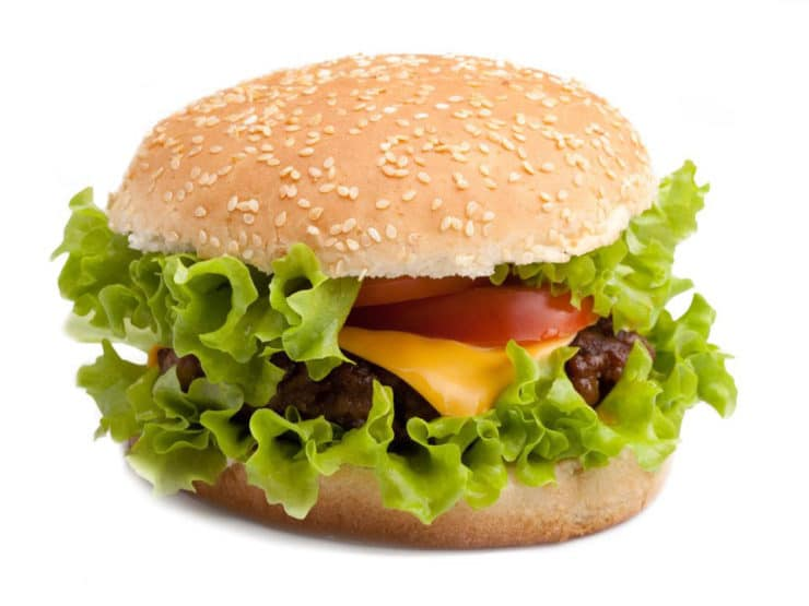 The First Kosher Cheeseburger?
