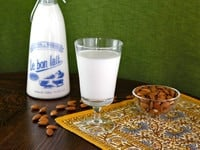 How to Make Almond Milk on TheShiksa.com #recipe #cooking #tutorial
