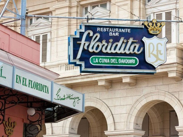 El Floridita Bar in Havana