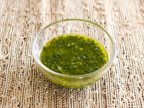 Fresh Lemon Herb Sauce on TheShiksa.com #recipe