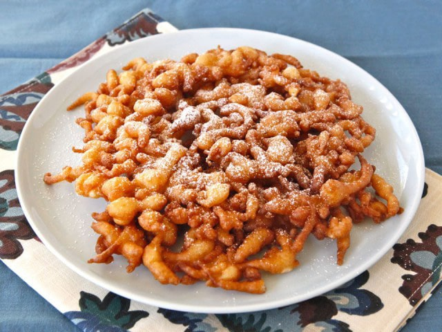 Funnel Cakes on TheHistoryKitchen.com