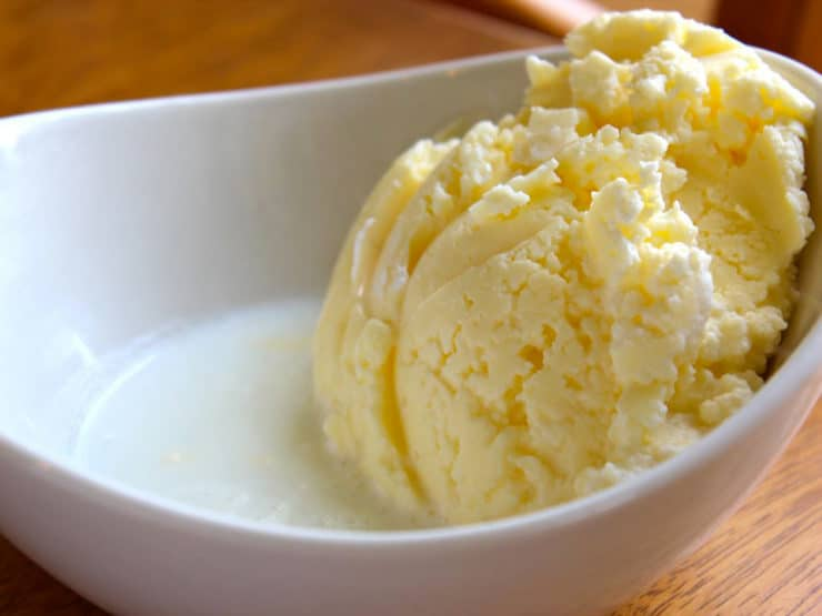 The Old Fashioned Way: Homemade Butter Recipe