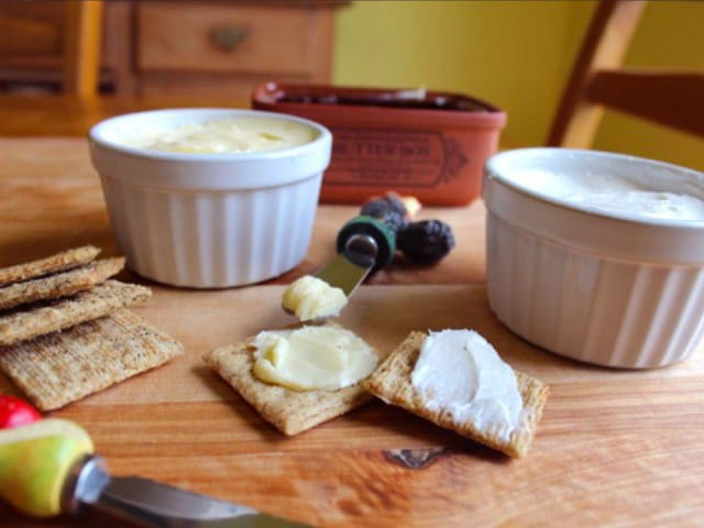 Homemade Butter on TheHistoryKitchen.com