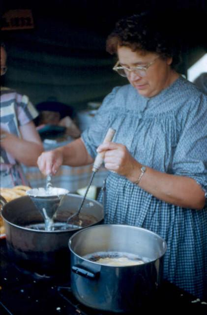 Kutztown Folk Festival Funnel Cakes, 1951