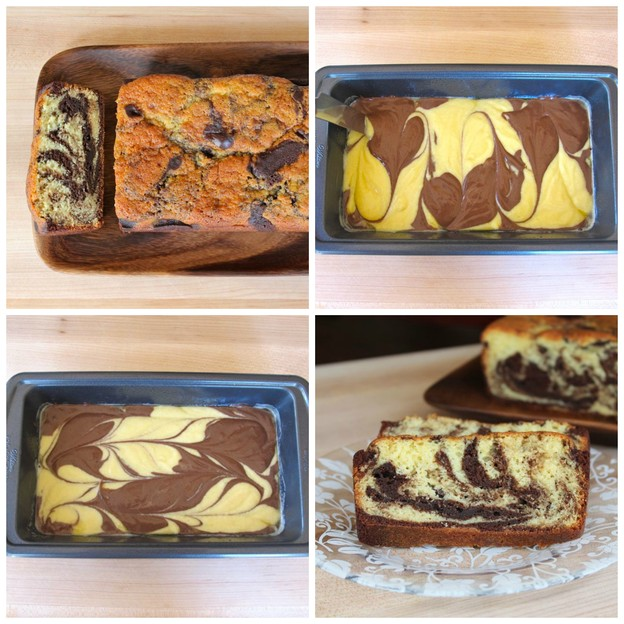Marble Cake - Learn a foolproof method for making deliciously soft and tender marble cake, inspired by traditional German marble cake. Kosher, Dairy.